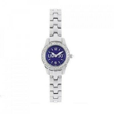 Liu Jo Orologio Watch Woman Uhr Acciaio Blu TLJ328 Donna Joy Piccolo Mini  Strass 34912a08c26
