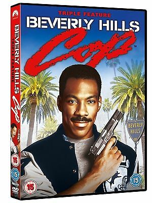 BEVERLY HILLS COP Trilogy Series 1-3 Complete Part 1 2 3 Collection Region 2 DVD
