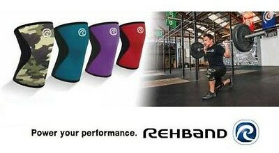 CrossFit Knee Support REHBAND 7751 Core Line Kniebandage Weightlifting Strongman