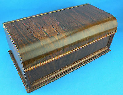 Superb Quality Antique 19thC Rosewood Stationary & Writing Box  (c.1860 English)