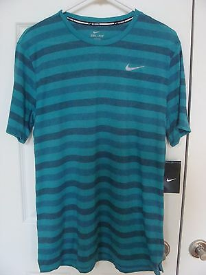 92815aabc NWT Men's Nike Dri-Fit Touch Tailwind Running Shirt 724158 311 Size ...