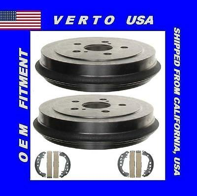 Rear Brake Drums & Shoes For Toyota Celica, Corolla Complete Kit