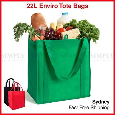 Bulk Enviro Reusable Shopping Bags Tote Bag Green Eco Friendly Non Woven Folding