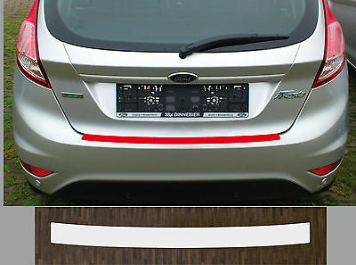 clear protective foil bumper transparent Ford Fiesta MK7, Facelift from 2012