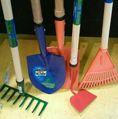 5-Pack And Garden Tools For Children Truper