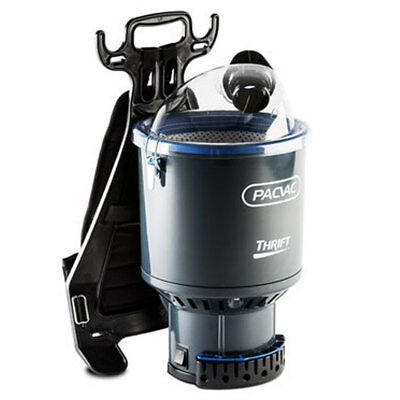 PACVAC Upgraded Thrift Commercial Backpack Vacuum Cleaner  650TH 2 Yr Warranty