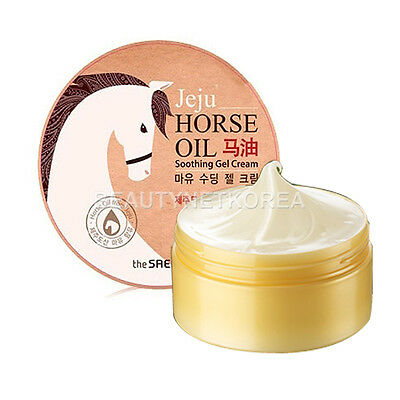 [THE SAEM] Horse Oil Soothing Gel Cream 300ml / Soothing and protecting skin