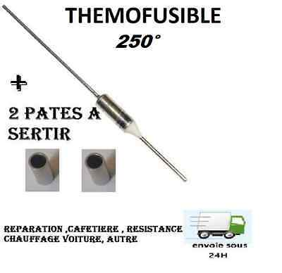Fusible Thermique 250°c  Protection 250° Thermofusible auto , Electroménage ,etc