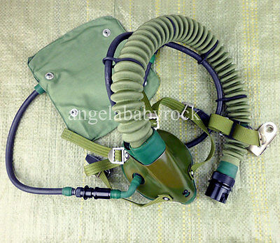 Chinese Air Force Aviator Pilot OXYGEN MASK-0064