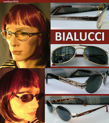 BIALUCCI Glasses,Vintage Sunglasses,Unused,Old Stock/Series,Selection,Italy,RARE