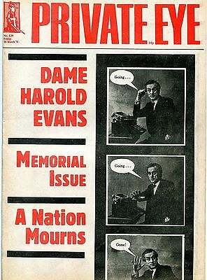 Private Eye Magazine No529 March 1982 - Dame Harold Evans Memorial Issue