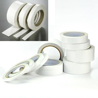 Clear Double Sided Sellotape Strong Permanent Self Adhesive Craft Tape Roolls