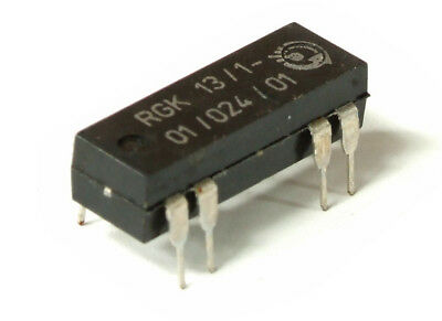 VEB RGK 13/1-01/024/01 13mm Reed Relay / Reed contact Relay DIL DIP-14 0.5A 24V
