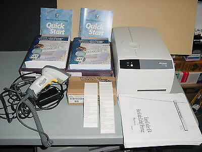 Intermec EasyCoder E4 Label Thermal Printer with extras