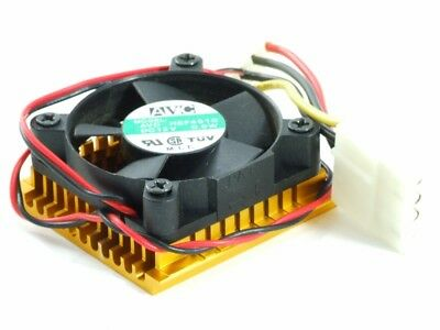 AVC HSF4510 Chipset Heat-Sink Cooler Chipset Heat Sink 4-Pin Molex 40mm Fan