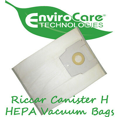 EnviroCare 811 Riccar RC-1500 Canister Filter Vacuum Bag Antimicrobal Also will Fit Riccar 1..