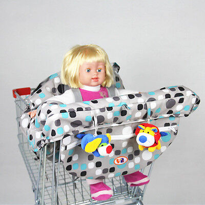 2016 Hot Baby Shopping Cart Cover Portable High Dining Chair Seat Belt Cheap New