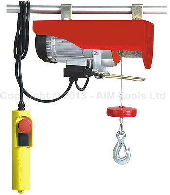 Scaffold Winch Electric Workshop Garage Gantry Hoist Lifting 250-1000KG 18M