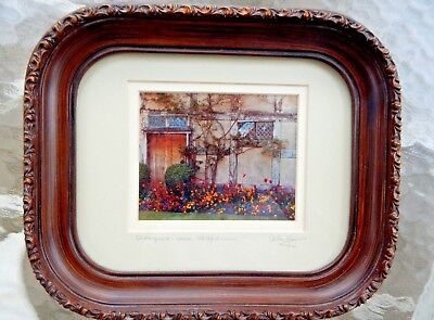 Vintage Framed Photographic Image of Shakespeare's House, Stratford SIGNED