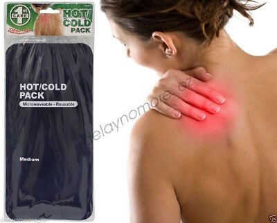 Hot Cold Pack First Aid Kits Microwaveable Reusable Heat Ice Gel pain relief