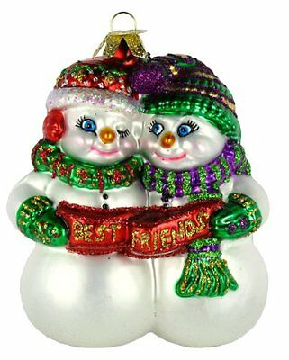 Old World Christmas Best Friend Glass Ornament, New, Free Shipping
