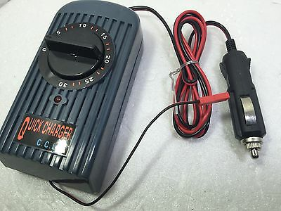 Quick charger chaves timer 12V 7,2 rapido RC batteria battery bateria pilas car