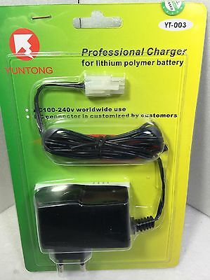 Yuntong professional charger for lithium battery 220/110 7,2 C RC car coche