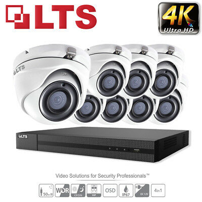 4/8/16 Channel Hikvision DVR Outdoor CCTV Home Security Camera System 1080P DIY