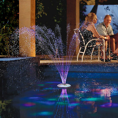 GAME AquaJet Swimming Pool Fountain and Underwater Light Show with Remote