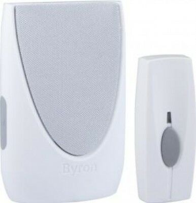 Byron Sentry BY201 100m Wireless Portable Door Chime Kit with 6 Melodies