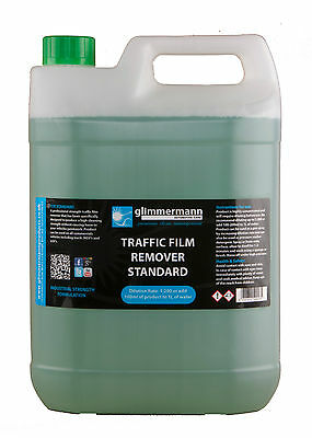 Traffic Film Remover HGV TFR Truck Car Non Caustic Detergent Cleaner Glimmermann