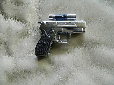 Pistol Gun Style Butane Jet Torch Lighter with USA Legal Laser Sight USA Stocked