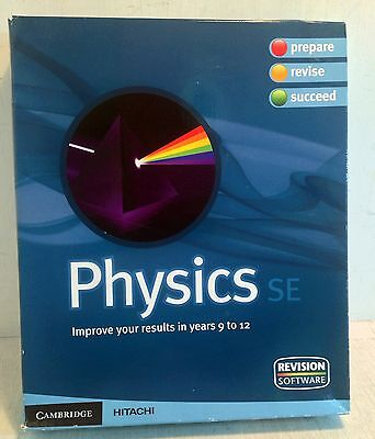 PC Computer Software: Physics SE for Years 9 to 12 in Aus Schools, Sealed (3338)