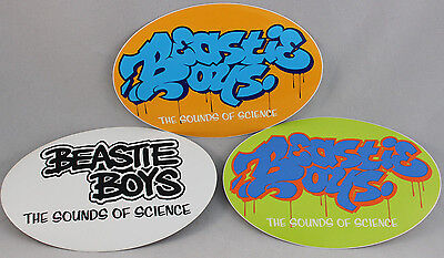 Beastie Boys Stickers Sounds Of Science Cd Ad Rock MCA Mike D Mint New Old Stock