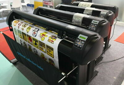 "New 720mm Vinyl Cutter Plotter Contour Cutting 28"" +Optical Eye AAS+Artcut"