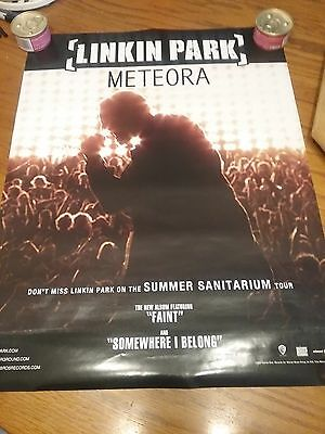 Linkin Park  Lot Of 2  Posters     Meteora    And     Reanimation