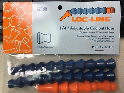 "LOC LINE #40413 1/4"" HOSE ASSEMBLY KIT hose and fittings - new in package"