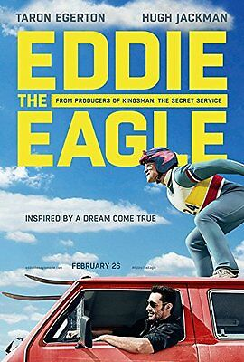 Eddie The Eagle Double Sided Poster 27x40 DS Advance 2016