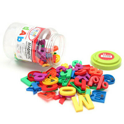 78pcs English Letters Alphabet Numbers Magnetic Fridge Educational Kids Baby Toy