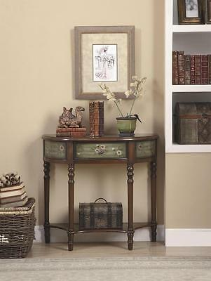Entryway Console Table with Painted Drawer by Coaster 950034