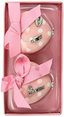 Mud Pie Baby Little Princess Heart Treasure Box Set - First Tooth and First Curl