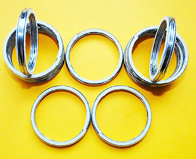 ALLOY EXHAUST GASKETS SEAL GASKET RING Honda CRM250 1989-1997 CRM a54