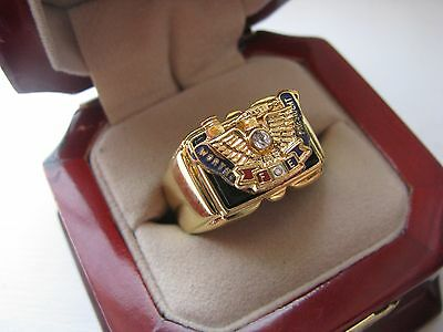NEW Mens Fraternal of Eagles Past Worthy President Ring