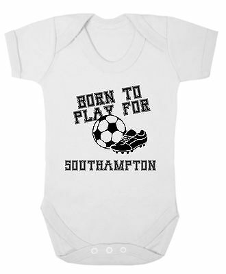 Baby Bodysuit - Novelty - Born to play for Southampton