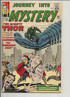 Journey Into Mystery #101 Thor Vg/ Fn White Pages Silver Age 1964 Marvel Comics