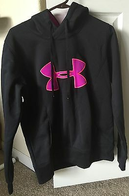 """Under Armour """"cold gear"""" Semi-Fitted Hoodie For Women In Size Medium #2"""