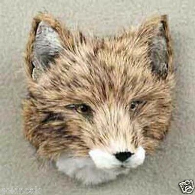 *COYOTE FURLIKE ANIMAL MAGNET! (Handcrafted & Hand painted..HOLIDAY GIFTS?