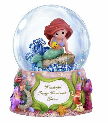 Precious Moments Disney Ariel Waterball, New, Free Shipping