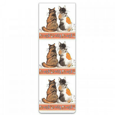 Small Magnetic Cat Bookmark Tortoiseshell by Alex Clark Mother's Day Easter Gift
