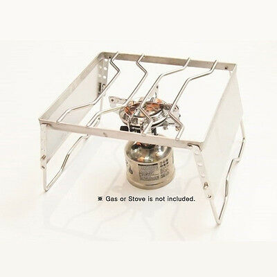 CAMPING MOON Portable Folding Stove Stand Holder Garden Outdoor Fishing Gear